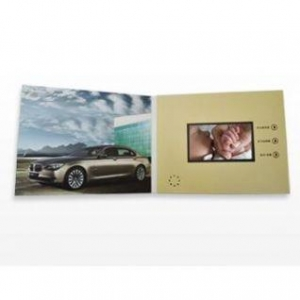 China 2.4 inch Video Gifts Card Video Greeting Card Promotional Card on sale