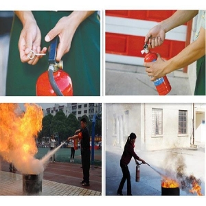 China Safety Portable Dry Chemical Powder Fire Extinguisher on sale