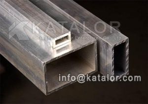 China AISI 4140 Alloy Steel Cold High Tensile rectangular tube on sale