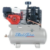 11 HP 30 Gallon Horizontal Two Stage Gas Driven Air Compressor 3G3HH
