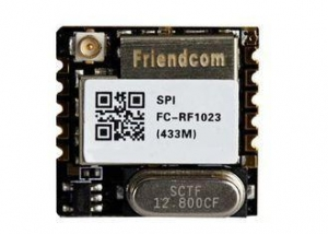 China ISM Free Band FSK Long Range RF Wireless Module Transceiver SPI Interface on sale