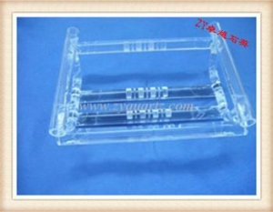 China T1014 Fused silica boat on sale
