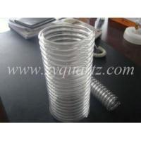 U5016 spiral quartz glass tube