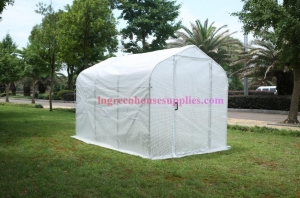 China Polytunnel cadre galvanis Serre Poly-Tunnel Tunnel Poly Porte En Mtal on sale