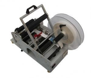 China Semi-Automatic Bottle Labeling Machine on sale