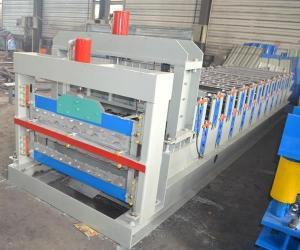 China CNC Aluminium Steel Roof Sheet Manufacturing Machinery on sale