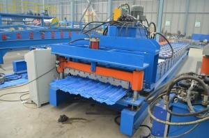 China Full Automatic Roof Glazed Tile Making Machine on sale