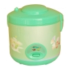 China Multi-function Green Rice Cooker with Automatic Cook for sale