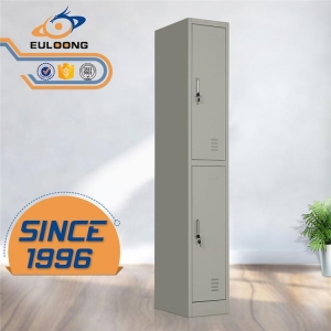 China 2 door clothing steel locker/wardrobe on sale