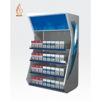 China Metal Cigarette Display stand with pusher METAL DISPLAYS AND ... BM-MCD-002 on sale