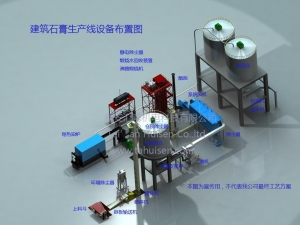 China Gypsum Powder Production Line on sale