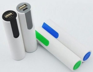 China Promotional gift 2600mah portable mobile power bank, high quality battery on sale