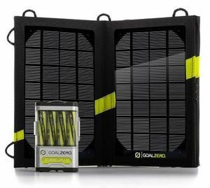 China Goal Zero Guide 10 Plus Solar Kit - Portable Solar Charger for iPhones and USB Devices on sale