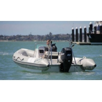 Inflatable Boat Rib Boat 580 with Center Console
