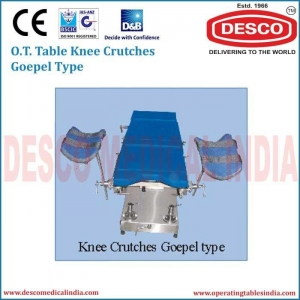 China OT TABLE KNEE CRUTCHES GOEPEL TYPE ATAC 140 on sale
