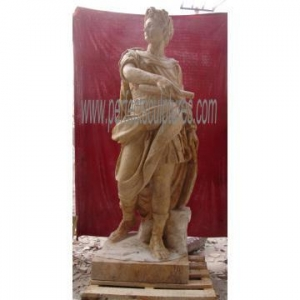 China Carved Antique Marble Sculpture Carving Stone Statue for Garden Decoration (SY-X1165) on sale