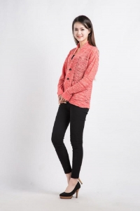 China Summer Long Sleeve Knit Cardigans on sale