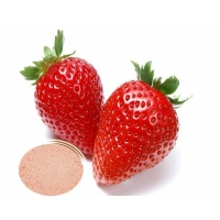 China Water Soluble Natural Beverage Strawberry Concentrate Fruit Powder Strawberry flavour powder on sale