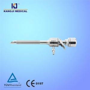 China Manual Lever Trocar With Obique Autoshield Tip on sale