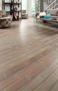 China 3-Ply Ecosolid bamboo flooring E0 grade ES-NW-MFR-3 on sale
