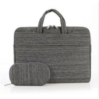 Linen Laptop Briefcase Computer Bag Businessman Laptop Bag