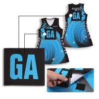 China Custom sport netball uniform Girl bodysuit Netball Dress on sale