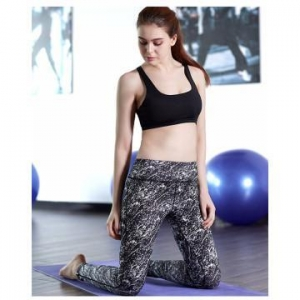 China Girl's dance tights sublimation spandex black leggings on sale