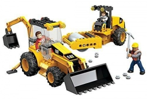 China Mega Bloks World Builders CAT (Caterpillar) Roadbuilding Unit on sale