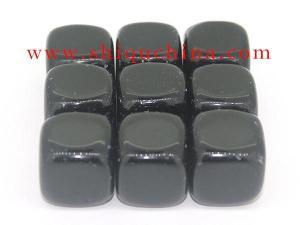 China gemstone whiskey stone/ black obsidian rocks set on sale