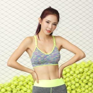 China Newest Design Seamless Sports Bra Women Yoga Bra Tops Wholesale on sale
