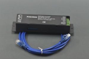 China PX24500 DMX512/1990 Controller 3 Channels for RGB LED Bulb Light Lamp DC 12V-24V on sale