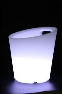 China Light Up LED Ice Bucket ,waterproof Wine Cooler Illuminated LED Ice Bucket,Acrylic LED Ice Bucket on sale