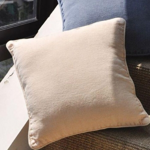 China Solid Color Piping Linen Sofa Cushion Cover CL-027 on sale