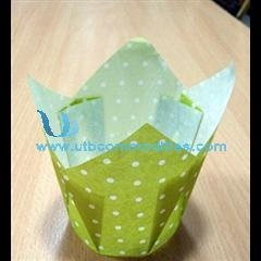 China Tulip Cup Cupcake Wrapper Paper Cake Cup on sale
