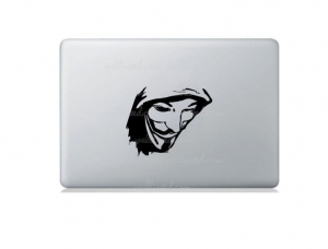 China Removable Grim Reaper Laptop Sticker Decals Can Be Customized on sale