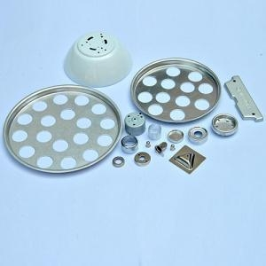 China Metal Lighting Fixture Parts stamping on sale