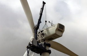 China Technical advantages of TICO wind power crane on sale