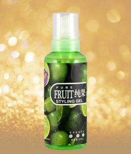 China HG-032 500ml Pure Fruit Styling Gel (Foam Type) on sale