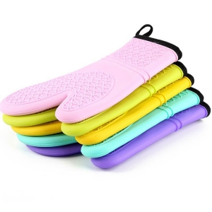 China cotton oven gloves on sale
