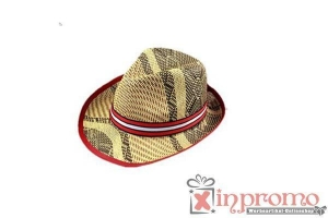 China Straw Hats printed with your logo on sale