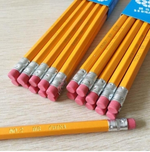 China Basswood Cotton Wood Polar General Wooden Pencil for School Use and Student on sale