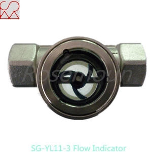 China Double Window Type Air Flow Indicator with Wheel on sale