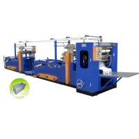 HX-220/2-6 Automatic V-fold Towel Folding Machine With Glue Lamtnation