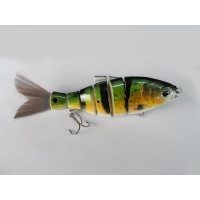 Six Section 6 Inch Bristle Tail Shad Lure