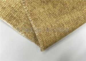 China Thermal Insulation Vermiculite Coated Fiberglass Fabric High Temperature Resistant on sale