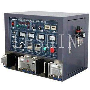 China LX-221A Single, Double Power Supply Cord Tester on sale