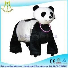 China Hansel walking on ground fur real pony for kids electric animal ride with CE app.. on sale