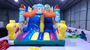China The Popular Hulk Customized Inflatable Slide For Children RB6038-5 on sale