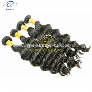 China 8-32inch Natural color 9A Virgin hair No Tangling brazilian deep curly ombre hair weave on sale