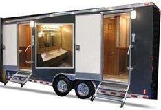 China Luxury AC Mobile Toilet Van on sale